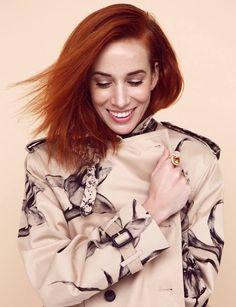 Táňa Pauhofová for EMMA Ruffle Blouse, Celebrities, Tops, Women, Fashion, Fotografia, Moda, Celebs, Fashion Styles