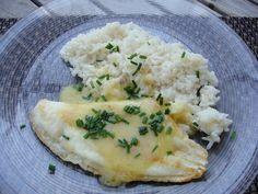 Filets de limande, beurre au citron