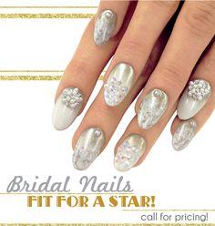Bridal Nail Art Mojo Spa™ | Blog mojospa.com