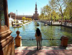 María Luisa Park Centenary #Seville http://tupersonalshopperviajero.blogspot.com.es/2014/03/fringed-boots.html @sevilla life @Turismo en España - Tourism in Spain