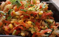 Find the GM Diet Indian version for both vegetarians and non-vegetarians day-day.
