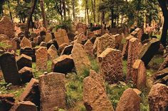 Some claim to see the golem roaming the cemetery grounds and others claim to see the ghost of Rabbi Loew.