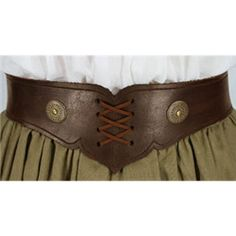 Gerlinta Leather Belt - MCI-327 by Medieval Collectibles - $55.00