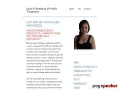 Awesome Learn How To Get Rid of Forehead Wrinkles with Lena Mayer