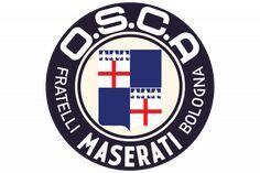 OSCA Logo Car Badges, Car Logos, Car Brands, Car Manufacturers, Bmw Logo, Chicago Cubs Logo, Maserati, How To Memorize Things, Flag