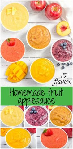 18 stage 2 baby purees that baby will actually eat taste buds easy fruit flavored homemade applesauce makes a great snack for kids and adults or forumfinder Images