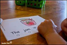 Alphabet Readers: Letter J FREEBIE!