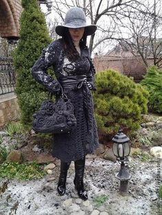 Irish crochet &: ЛЮДМИЛА ЛЕВЧЕНКО. Ирландия - пальто, жакеты...