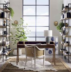 Work from home in style with modern home office furniture. Shop on-trend desks, office chairs, bookcases and filing cabinets for your study. Modern Home Office Furniture, Modern Home Offices, Modern Office Design, Home Office Decor, Modern House Design, Modern Decor, Office Ideas, Office Designs, Home Decor Styles