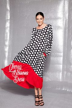 Notre belle Maxi dress de la nouvelle COLLECTION automne hiver 2017 est ici! Découpé dans un tissu viscose léger, cette robe longue avec manches se sent comme une seconde peau. Très confortable, facile à porter et facile d'entretien, c'est un must have vêtement pour n'importe