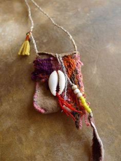 Mini Medicine Bag/ Pouch/ Tribal/ Hippy/ Chic/ Boho/ by Temple33