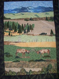 My first landscape quilt