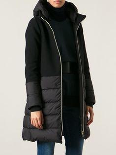 Herno Paneled Padded Coat - Dolci Trame - Farfetch.com