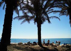 #Torremolinos - Playa Los Alamos. #Andalusien.