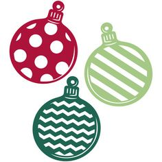 Silhouette Design Store: set of ornaments