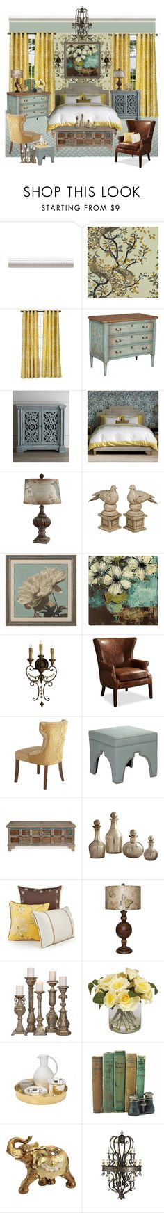 """""""Sweet Dreams"""" by rotunda ❤ liked on Polyvore featuring interior, interiors, interior design, home, home decor, interior decorating, DwellStudio, Ethan Allen, Thos. Baker and Pier 1 Imports"""