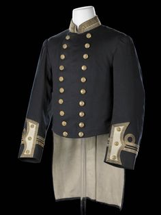 Royal Naval uniform: pattern 1877-91 - National Maritime Museum