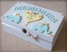 Twin Baby Memory Box Twin Baby Wooden Keepsake Box Memory | Etsy
