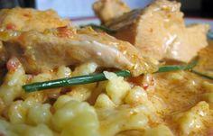 Chicken Paprikas.      Google Image Result for http://www.budapest-discovery-guide.com/images/chickenpaprikarecipe.jpg