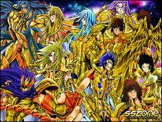 Saint Seiya - The Lost Canvas Gold Saints