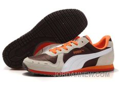 http://www.jordannew.com/puma-cabana-racer-ii-lx-sneakers-brown-beige-orange-free-shipping.html PUMA CABANA RACER II LX SNEAKERS BROWN/BEIGE/ORANGE FREE SHIPPING Only 83.59€ , Free Shipping!