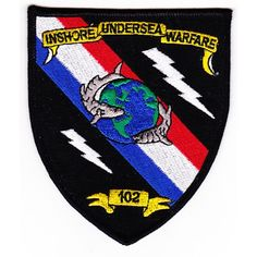 Mouse over image to zoom IUW-102 Inshore Underwater Warfare Patch US NAVY SEAL