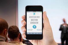 Agência cria um gerador automático de perguntas para a Advertising Week http://www.bluebus.com.br/agencia-cria-um-gerador-automatico-de-perguntas-para-a-advertising-week/