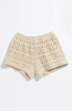 Baby Girl Shorts, so cute! Crochet Jumper Pattern, Jumper Patterns, Knitting For Kids, Baby Knitting, Crochet Baby, Knit Shorts, Lace Shorts, Girl Shorts, My Little Girl