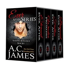 Right now Ever After Series Box Set by A. C. James is $0.99