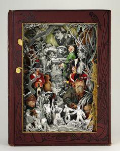 3D book sculpture by alexander korzer-robinson