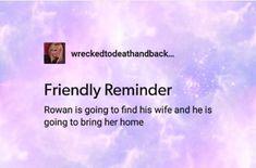 Finally a friendly reminder