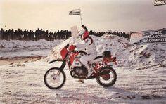 Paris Dakar 1986 Prologue Cergy Raymond LOIZEAUX