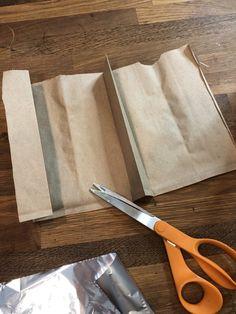 DIY Paper Bag Pumpkin Stems - C Whimsy Fall Pumpkin Crafts, Pumpkin Stem, Diy Pumpkin, Fall Crafts, Diy Paper Bag, Paper Sack, Paper Bag Crafts, Faux Pumpkins, Velvet Pumpkins