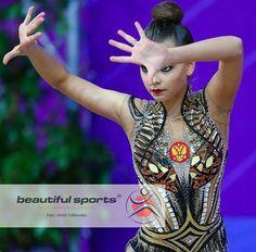 Dina Averina Pesaro 2018 New leotard