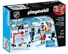 Playmobil 9017 Advent Calendar NHL- Rivalry on the Pond Play Mobile, Days To Christmas, Christmas Toys, Playmobil Christmas, Nhl, Frozen Pond, Best Kids Toys, Hockey, Have Fun