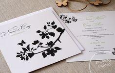 Butterfly Garden | Alannah Rose | Wedding Invitations + Stationery