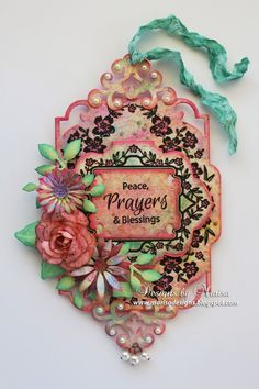 JustRite Papercraft August Release - Sympathy Vintage Labels Eight and Nine