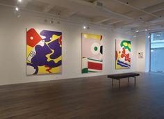 Hollis Taggart Now Represents Knox Martin -ARTnews Santa Barbara Museum, Pierre Hotel, Jewish Museum, New York Museums, Whitney Museum, Black And White Painting, University Of Minnesota, Abstract Expressionism, Art Museum