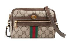 Get the trendiest Cross Body Bag of the season! The Gucci Ophidia Mini Beige/ Ebony Gg Supreme Canvas & Leather Cross Body Bag is a top 10 member favorite on Tradesy. Save on yours before they are sold out! Gucci Crossbody, Leather Crossbody Bag, Gucci Mini Bag, Gucci Handbags, Vintage Gucci, Canvas Leather, Fashion Bags, Women's Fashion, Shopping Bag