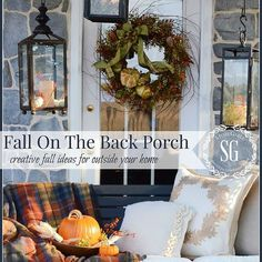 Fall on the Back Porch