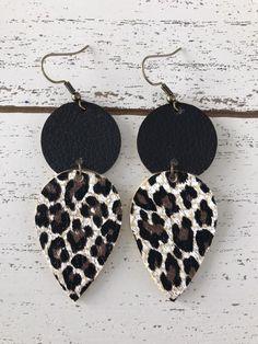 224d0bea3ab28 8 Best Animal Print Earrings images in 2015 | Animal print earrings ...