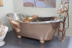 Bath Caddy Copper