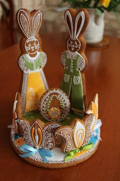 GINGERBREAD HOUSE~Rabbit gingerbread