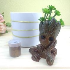 Molde de Groot Ref-340 Planter Pots, Soap Holder, Barrel, Incense, Cup Holders, Jars, Vases, Molde