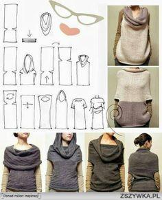 jeden sweter ale ile możliwości !