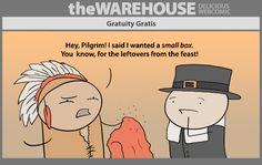 theWAREHOUSE comic 924 – Gratuity Gratis