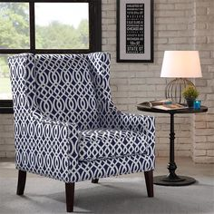 Found it at Wayfair - Barton Wing Chair