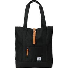Herschel Supply Market Black Tote Bag