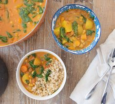 Before I tell you about this delicious curry I quickly wanted to say that exactly two months today my first cookbook will be published in the UK, which is beyond exciting! I saw the first finished copy of it a few weeks ago and I'm so pleased with it, the book looks amazing and I think …