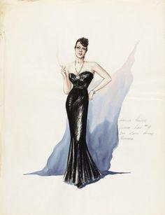 Costume Sketch  Herschel McCoy  c.1940